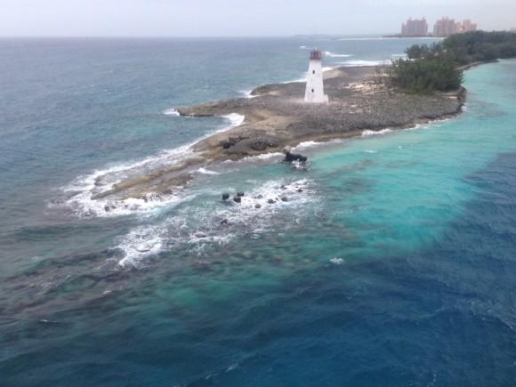 Little lighthouse, Nassau, Bahamas